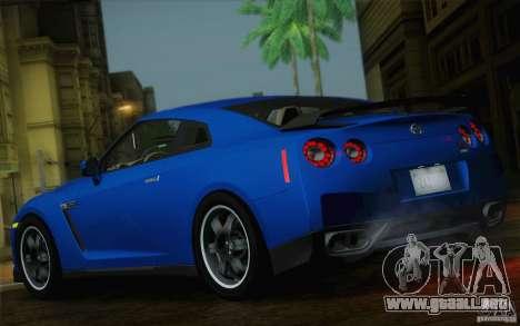Nissan GTR Egoist para GTA San Andreas vista posterior izquierda
