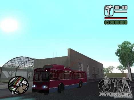ZIU 682GM 1 para GTA San Andreas vista hacia atrás