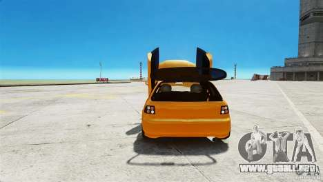 Honda Civic Tuned para GTA 4 vista hacia atrás