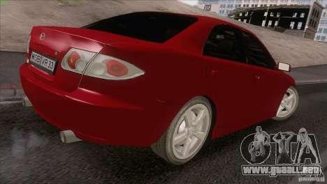Mazda 6 2006 para visión interna GTA San Andreas