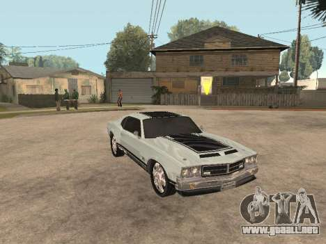 SabreGT de GTA 4 para GTA San Andreas left