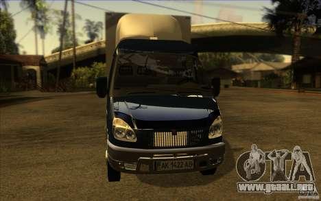 Gacela 33023 para GTA San Andreas left