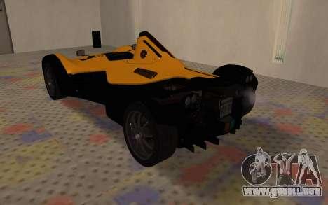 BAC Mono para la visión correcta GTA San Andreas