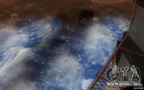 Real Sky Efects para GTA San Andreas segunda pantalla