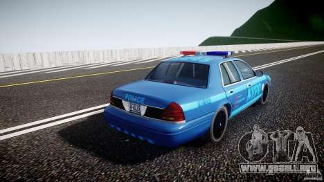 Ford Crown Victoria 2003 Noose v2.1 para GTA 4 vista interior