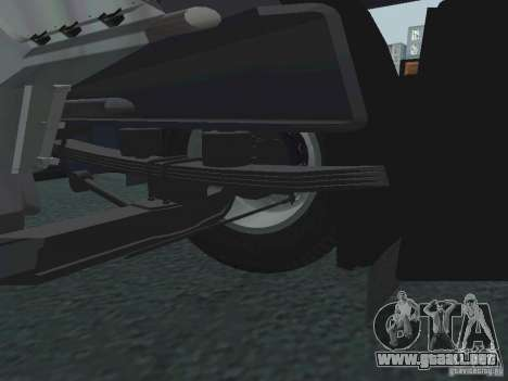 Tablero de instrumentos activos v.3.0 para GTA San Andreas décimo de pantalla