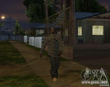 Beta Peds para GTA San Andreas octavo de pantalla