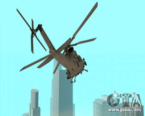 UH-1 Iroquois para GTA San Andreas left