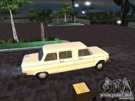 ZAZ 968 m Limousine para visión interna GTA San Andreas