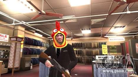 CluckingBell Hat para GTA 4