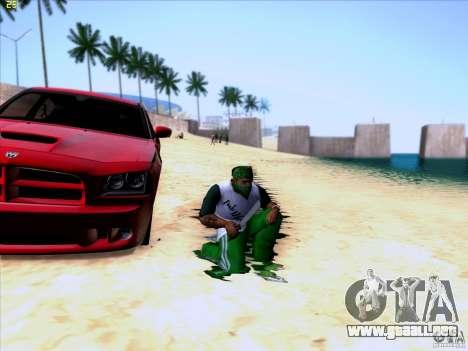 Machete from Far Cry 3 para GTA San Andreas tercera pantalla