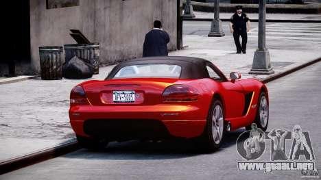 Dodge Viper SRT-10 2003 1.0 para GTA 4 vista interior