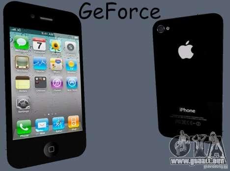 IPhone 4 para GTA San Andreas