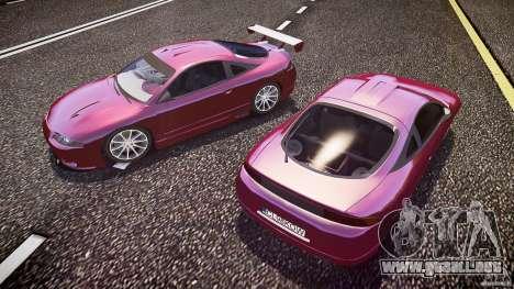 Mitsubishi Eclipse para GTA 4 vista desde abajo