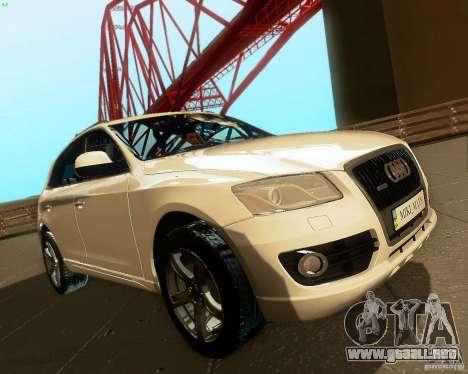Audi Q5 para vista lateral GTA San Andreas