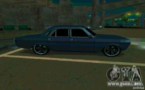 Volga GAZ 24 v2 (beta) para la visión correcta GTA San Andreas