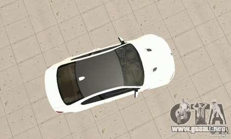 BMW M3 2008 para visión interna GTA San Andreas