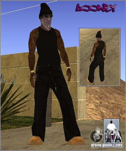 Piel Pack Getto para GTA San Andreas quinta pantalla