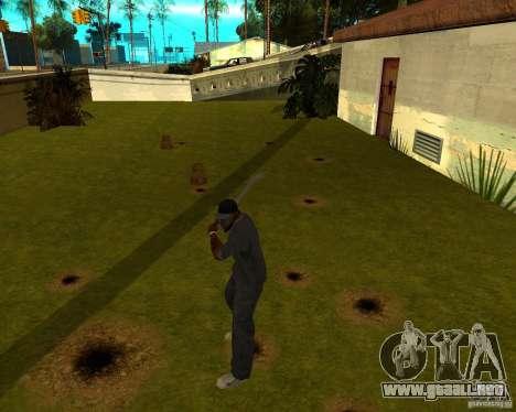 Pipa de agua para GTA San Andreas tercera pantalla