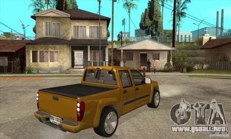 GMC Canyon 2007 para la visión correcta GTA San Andreas