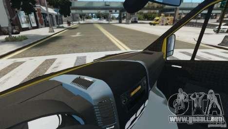 Mercedes-Benz Family Frost para GTA 4 vista hacia atrás