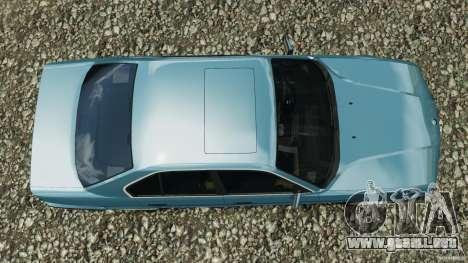 BMW E34 V8 540i para GTA 4 visión correcta