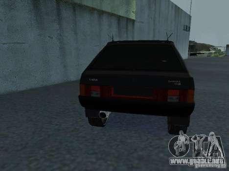 VAZ 2109 sintonizable para visión interna GTA San Andreas