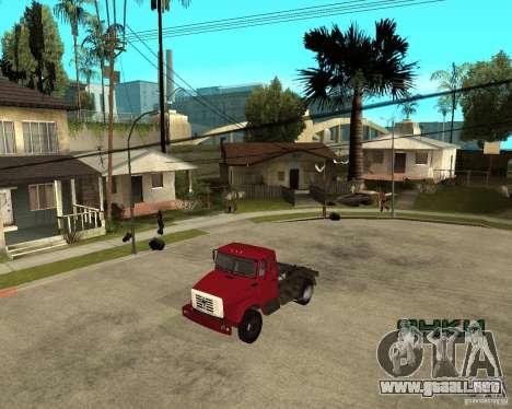 ZIL-433362 Extra Pack 1 para GTA San Andreas vista posterior izquierda