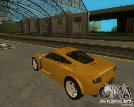 Ginetta F400 para GTA San Andreas left