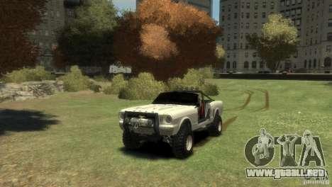 Ford Mustang Sandroadster 1.0 para GTA 4