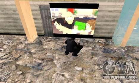 South Park Grafitti Mod para GTA San Andreas segunda pantalla