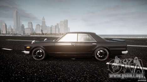 Nissan Skyline GC10 2000 GT v1.1 para GTA 4 left