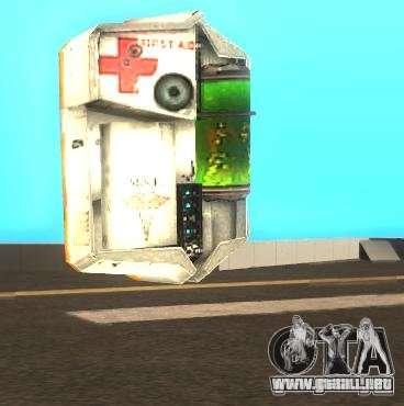 Kit de armadura y primeros auxilios de Half-Life para GTA San Andreas segunda pantalla