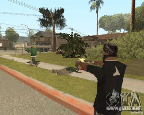 Mark and Execute para GTA San Andreas quinta pantalla