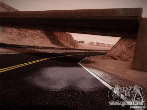 New Roads v1.0 para GTA San Andreas segunda pantalla