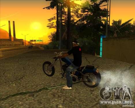 Hexer bike para GTA San Andreas left