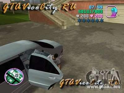 Mercedes-Benz S600L (W220) con controlador para GTA Vice City