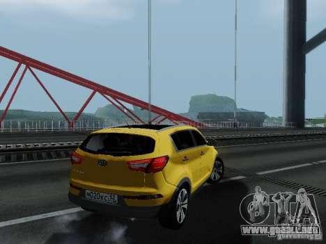 KIA Sportage para GTA San Andreas left