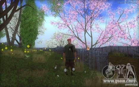 Spring Season para GTA San Andreas