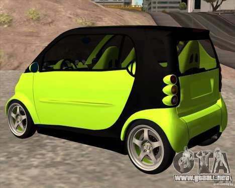 Smart Alienware para GTA San Andreas left