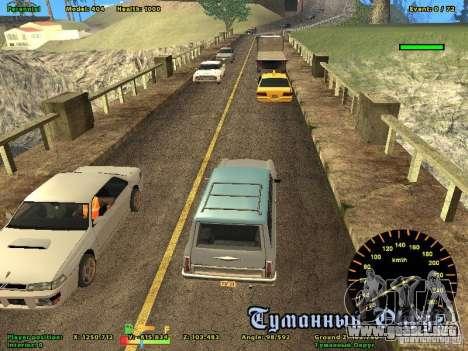 DMX para GTA San Andreas tercera pantalla