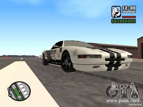 new Infernus Skin para GTA San Andreas left
