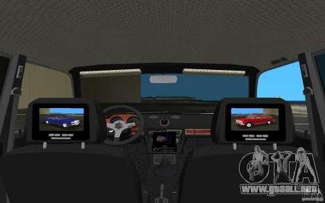 2106 VAZ Tuning v3.0 para GTA Vice City vista interior