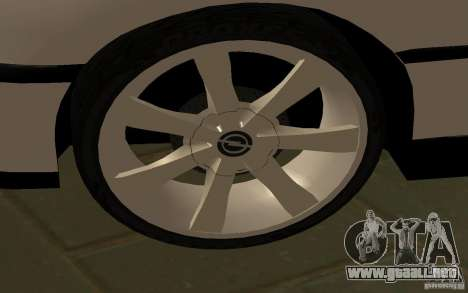 Opel Omega para GTA San Andreas left
