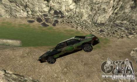 Zamedlenie Time para GTA San Andreas segunda pantalla