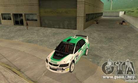Mitsubishi Lancer Evolution IX para el motor de GTA San Andreas
