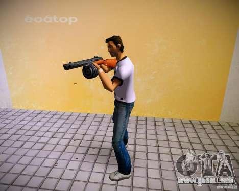 PPSH-41 para GTA Vice City quinta pantalla