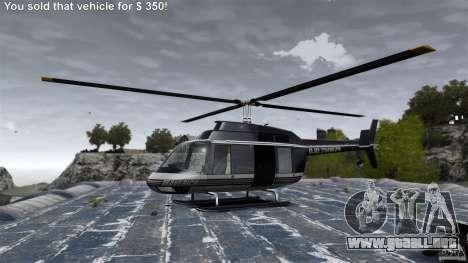 La vida real v 1.1 para GTA 4 adelante de pantalla