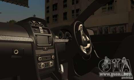 Holden HSV GTS para visión interna GTA San Andreas