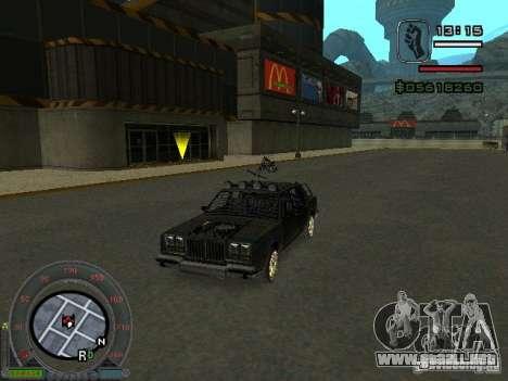 El bosque nuevo para GTA San Andreas